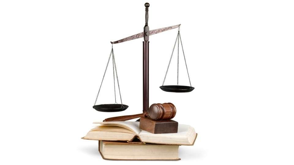 balanza del derecho
