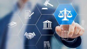 Iconos relacionados con el derecho